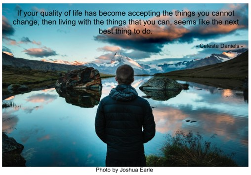 Quality of life…how do you define that?