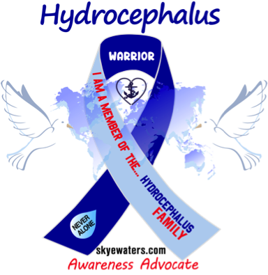 I'm a member of the Hydrocephalus family…Never Alone